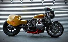 Honda Goldwing 'Whiskey Priest' drag bike