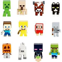 Minecraft Mini-Figures Blind Box Grass 1 Series Review  - CLICK HERE TO BUY ALL THE #Minecraft Min Figure Toys