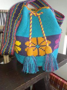 Crochet Handbags, Crochet Purses, Crochet Cushions, Knit Crochet, Mochila Crochet, Tapestry Crochet Patterns, Beginner Crochet Projects, Tapestry Bag, Fabric Purses