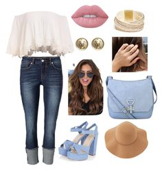 """Untitled #45"" by athziri-galindo on Polyvore featuring Nine West, Sans Souci, Lime Crime, Chanel and GUESS"