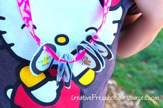 Love these printable i-spy hiking necklaces.  My kids loved them too and it kept them engaged during the hike.