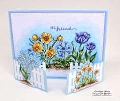 ChristineCreations: Garden Gate with Natural Beauties