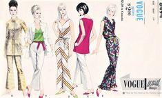 c8c3ce9607 1960s FABULOUS Lounging Pajamas Pyjamas PJs Hostess Jumpsuit Nehru Rajah Jacket  Pattern VOGUE Special Design 6494 Casual Day or Evening Chic Bust 32  Vintage ...