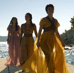 Tyene, Nymeria, and Obara Sand