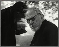 Josef Sudek (Czech photographer, 1896-1976) by Zdenko Feyfar (Czech photographer, 1913-2001) / 1973. Gelatin silver print