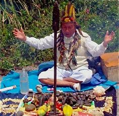 In traditional societies, a shaman is a person who, usually in an altered state of consciousness, acts as an intermediary between the natural and supernatural worlds to predict and control the future, cure illness, generate miracles, and the like.