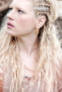 Lagertha Braids Detail <3