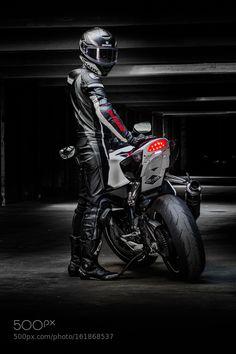 Dark Biker by Ronracer