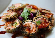 8 Best Places to Get Sushi in CIncinnati Cincinnati Food, Grubs, Zucchini, Sushi, Yummy Food, Foods, Vegetables, Places, Summer