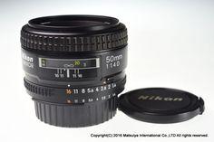 NIKON AF NIKKOR 50mm f/1.4D Made In Japan Excellent+ #Nikon
