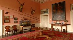 Enniscoe Country House Mayo, Historic and Romantic Mayo Manor House, Oak Grove, Blue Books, Home And Family, Gallery Wall, Country, Luxury, Interior, House, Home Decor