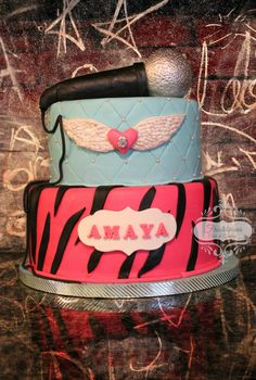 Rock Star cake by Frostiicious Cakes & Cupcakes