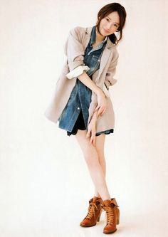 FC: Erika Toda - Yue Zikuro Kawaii Fashion, Cute Fashion, Asian Fashion, Fashion Beauty, Fashion Outfits, Womens Fashion, Fashion Trends, Fashion Lookbook, Her Style