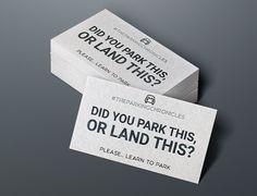 Bad Parking Austin Texas How To Memorize Things Business Cards Card Ideas Handle Knob Visit Carte De Visite