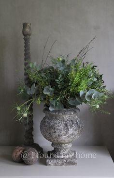 014 Estilo Interior, Arte Floral, Green Flowers, Colour Schemes, Flower Decorations, Garden Pots, Home Deco, Flower Power, Floral Arrangements