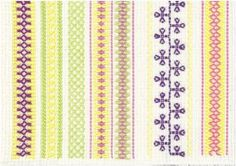 Beaded Embroidery, Cross Stitch Embroidery, Diy Crafts For School, Swedish Weaving, Textile Fabrics, Needle And Thread, Handicraft, Needlework, Arts And Crafts