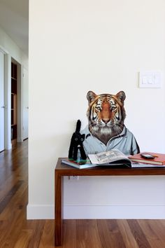 Zoo Portraits: Tiger wall decal X Blik
