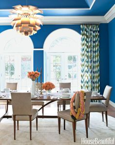 15 Ways to Make a Statement in Your Dining Room  - HouseBeautiful.com