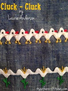 SewNso's Sewing Journal: Cluck-Cluck Rick Rack Jumper
