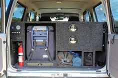 ute tray camping setup drawer - Google Search