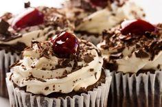 Schwarzwälder Kirsch Cupcake