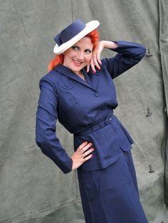 Ladies 1940s Wartime Suit