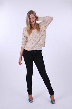 #basictraining #winter #fashion #trend Sass clothing Savannah Super Cool Knit - Womens Jumpers at Birdsnest Women's Clothing