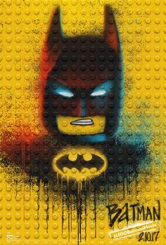 These LEGO Batman Movie posters are SO cool!