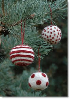 Christmas Felted Bauble kit giveaway; International · Felting | CraftGossip.com