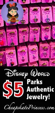 Disney World's Charmed in the Park Jewelry: A Cheapskate Princess Guide Disney Secrets, Disney World Tips And Tricks, Disney Tips, Disney Fun, Disney Style, Disney World Souvenirs, Disney World Parks, Walt Disney World Vacations, Disney Resorts