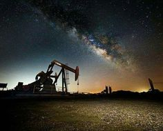 Looking for oilfield jobs? We're your one stop spot for oilfield jobs, oilfield news, oilfield learning and more. Oil Rig Jobs, Oilfield Life, Oilfield Trash, Petroleum Engineering, Night Sky Photos, Oil Refinery, Drilling Rig, Oil Industry, Space Photos