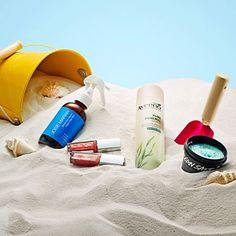 How To Get the Beach Beauty Look Without the Beach | http://www.rachaelraymag.com/fun-how-to/makeovers/beach-beauty-products/