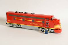 custom lego trains - Google Search