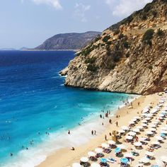 Just one of the most beautiful beaches in #Turkey - #Kaputas