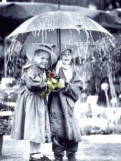Happiness in spite of the rain.....