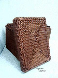 Тема: плетенки от марины (48/51) - Плетение из газет и другие рукоделия - Плетение из газет
