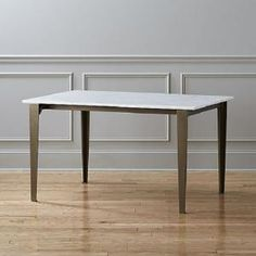 12 New Takes On The Classic Farmhouse Table: CB2 Paradigm Dining Table