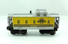 O Lionel Rio Grande 9166 Lighted Yellow Caboose 6 9166   eBay