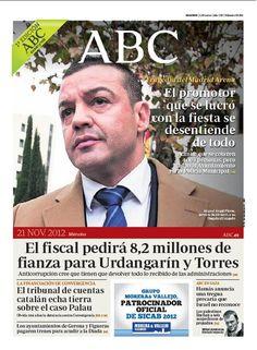 La portada de ABC del 21 de noviembre