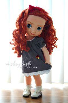 disney animator's doll clothing, Princess Merida -