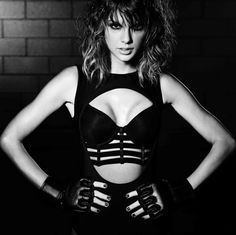 Taylor Swift in her new 'Bad Blood' music video
