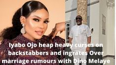 Iyabo Ojo heap heavy curses on backstabbers and ingrates Over marriage rumours with Dino Melaye Marriage, Videos, Youtube, Valentines Day Weddings, Weddings, Mariage, Wedding, Video Clip, Casamento
