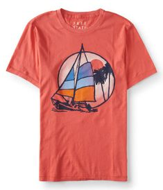 Free State Sailboat Graphic T -