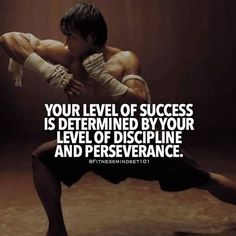 Quotes for Motivation and Inspiration QUOTATION – Image : As the quote says – Description Your level of success is determined by your level of discipline and perseverance. Life Quotes Love, Badass Quotes, Wisdom Quotes, Great Quotes, Me Quotes, Motivational Quotes, Inspirational Quotes, Qoutes, Quotable Quotes