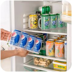 4 Drink Cans Refrigerator Storage Box //Price: $10.80 & FREE Shipping //     #hashtag4