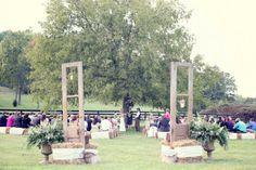 Outdoor Wedding Country Ceremony