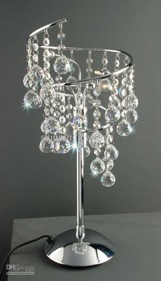 Swarovski Crystal Table Lamp