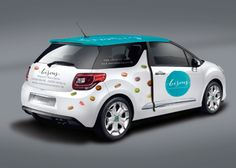 Bisous - identity - vehicle wrap