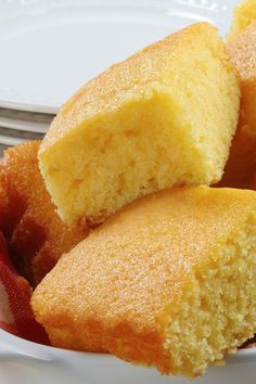 Grandma's Sweet Buttermilk Cornbread by WickedGoodKitchen.com ~ Scrumptious and irresistibly moist!