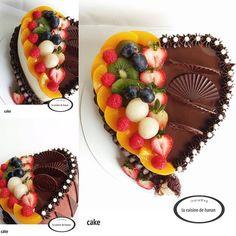 #cake#cakedecorating#cakedesign#yummy#sweet#tasty#party#birthday#chocolate#halfcresm#halfchocolate#foodie#foodiegram#baking#bakery#patisserie#pastry#instagram#instagood #instamood #instamyphoto #instabake#heartcake#fruit#